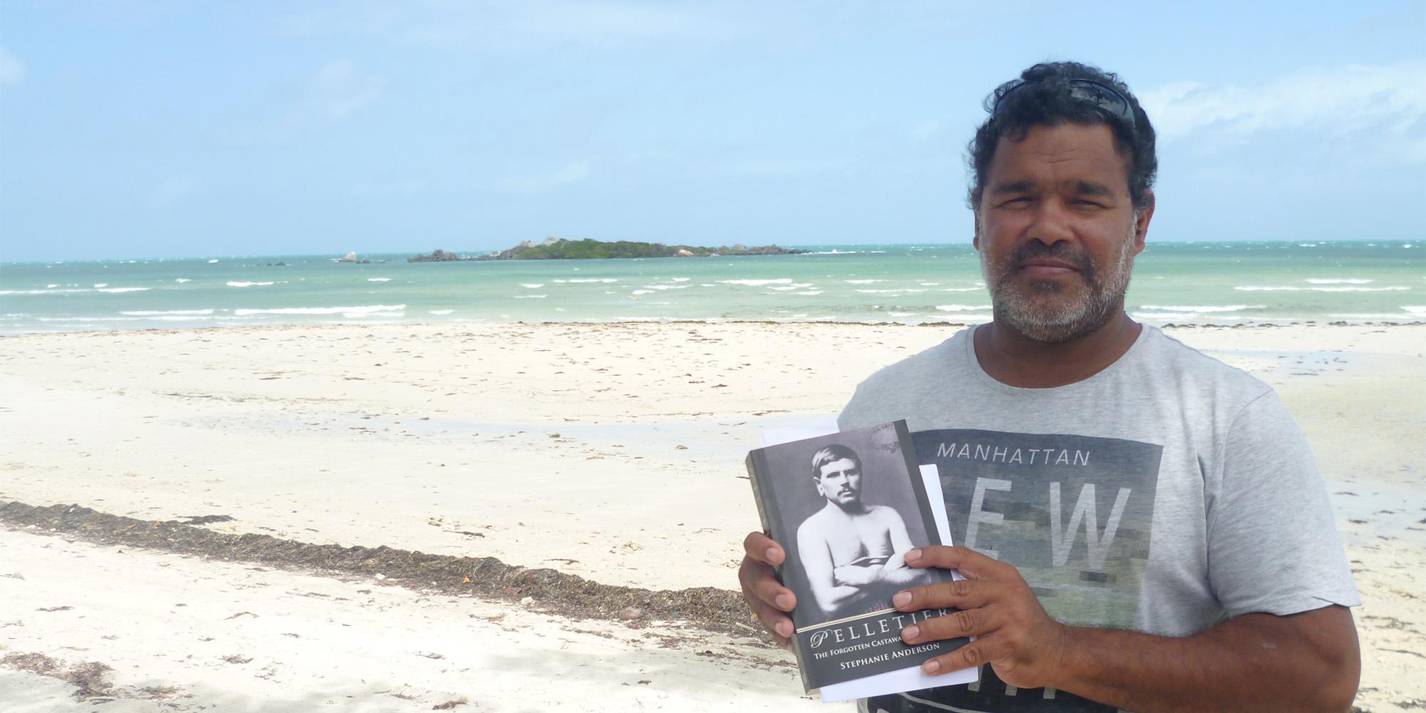 Narcisse Pierre Pelletier, Castaway, Aboriginal